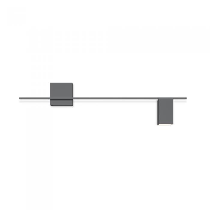 Imagen 1 de Lámpara de pared Structural 2610 Gris L2. 1 × LED PLATE 24V 6W