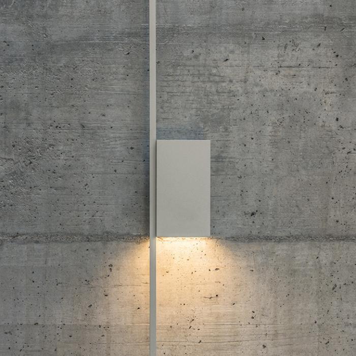 Imagen 1 de Lámpara de pared Structural 2617 Gris D1. 2 × LED PLATE 24V 6W
