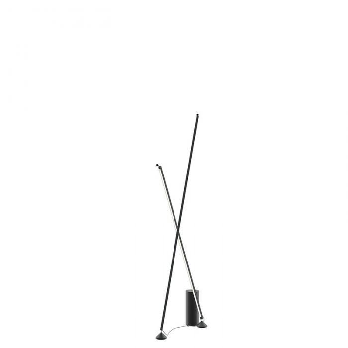 Imagen 1 de Lampara de pie Sticks 7338 2700K - Negro