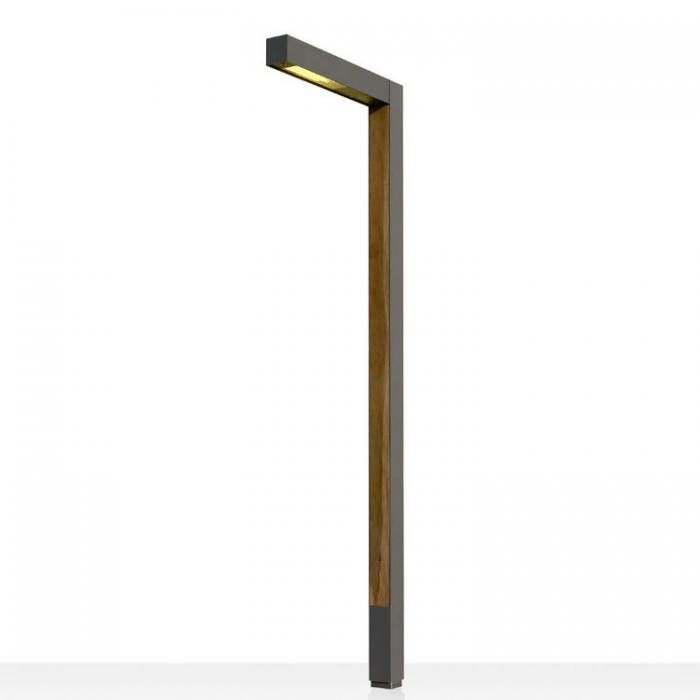 Imagen 1 de Zenete 400 1 Lamp post metal and wood