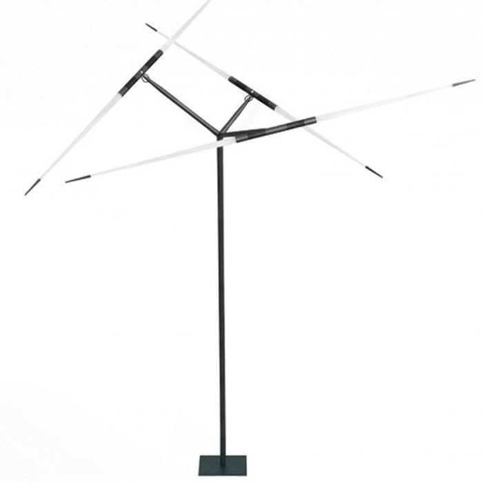 Imagen 1 de Javelot macro D54t Floor Lamp 3 arms LED Black