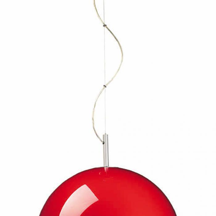 Imagen 1 de Retro Pendant Lamp ø44cm E27 1x60w orange