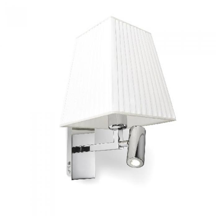 Imagen 1 de Basic Wall Lamp with white lampshade