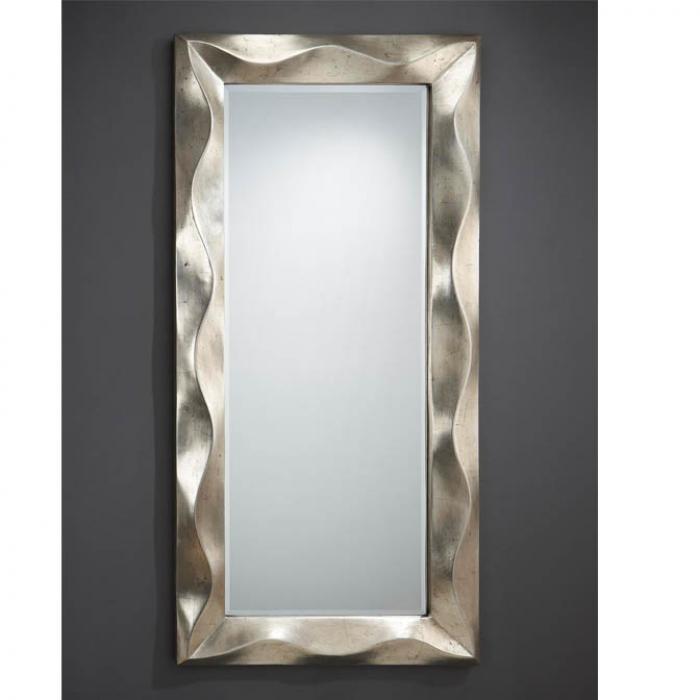 Imagen 1 de Alboran miroir rectangulaire Cadre Volumetrico Feuille d´argent âgé
