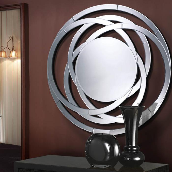 Imagen 1 de Aros espejo marco calado ø120