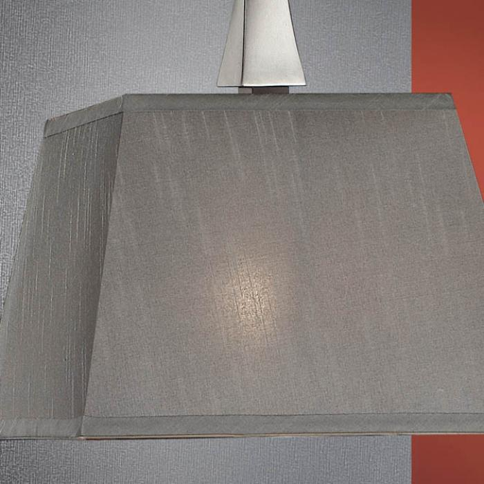 P664228 7455 Lámparas Schuller Pantalla gris tono de diseño NOy80mnwv