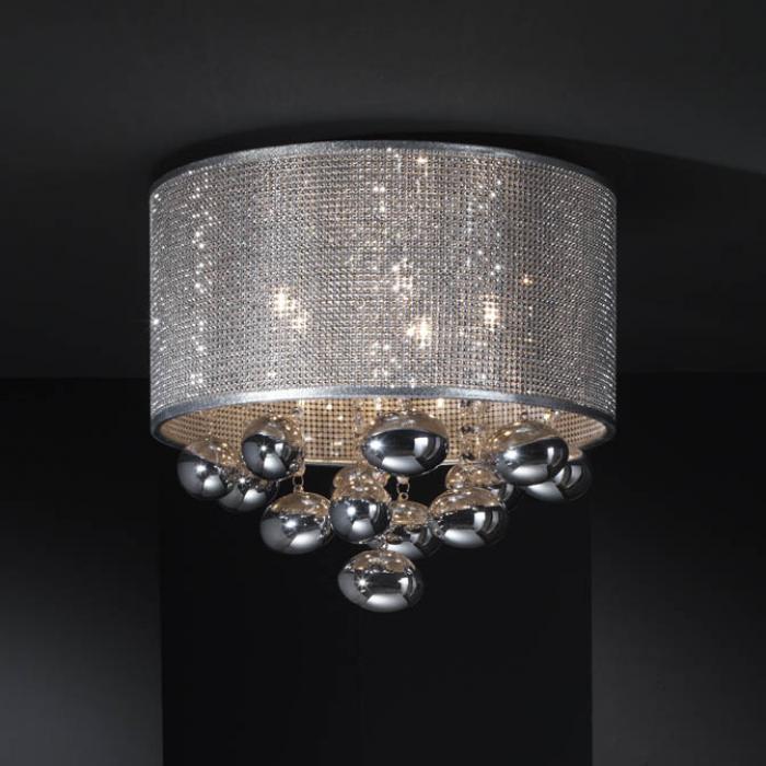 Imagen 1 de Andrómeda Plafón 5xG9 LED 6W Cromo