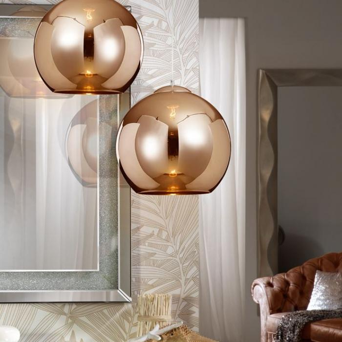 schuller kugel lampe pendelleuchte 36x35cm 1xe27 589131 l mparas de dise o. Black Bedroom Furniture Sets. Home Design Ideas
