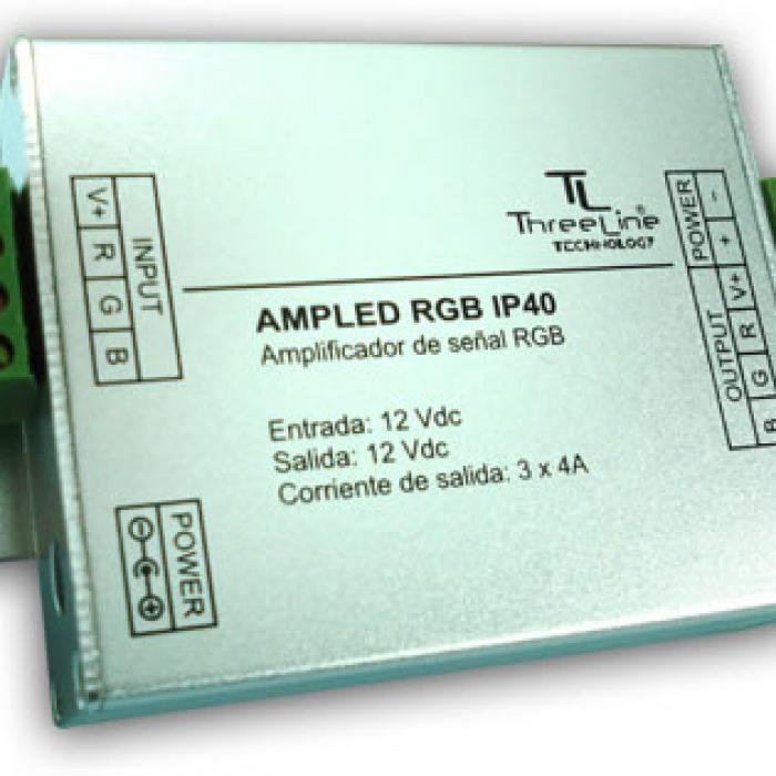 Imagen 1 de Amplificador de señal RGB IP40