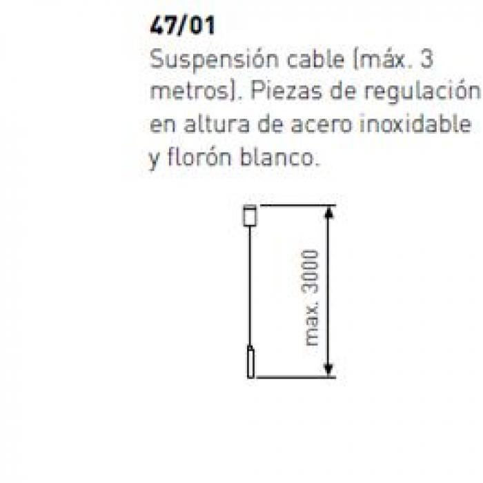Imagen 1 de Flying Surface Accessory Set of suspension cable 3 meters