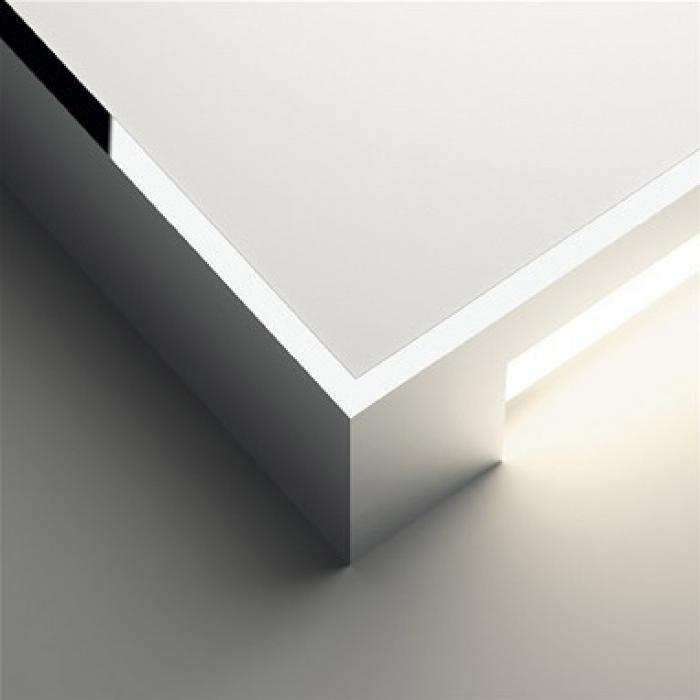 Imagen 1 de Alpha Applique Carrée - Laqué blanc mat