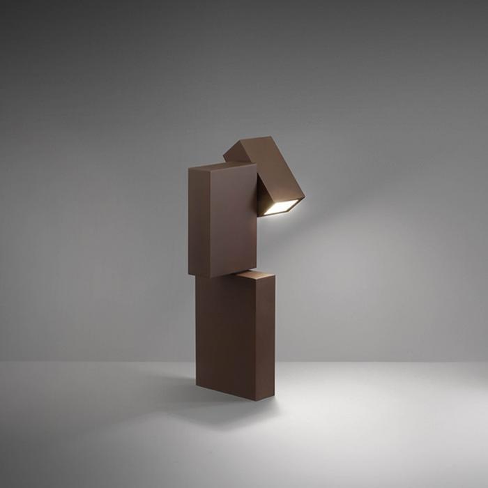 Imagen 1 de Boxes Baliza proyectora HCI G8,5 1x20w - Lacado Caqui mate