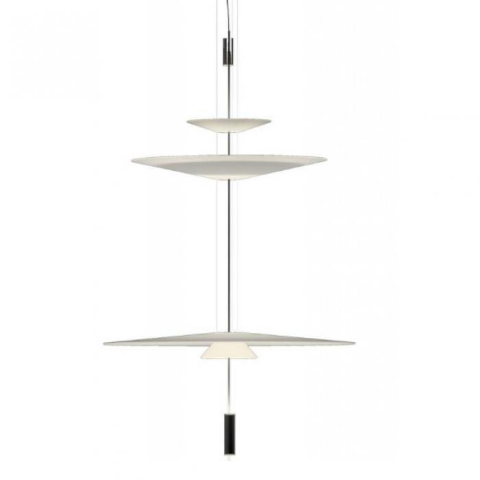 Imagen 1 de Flamingo Suspension 155 cm 3xLED 5,6W dimmable - Laqué Graphite mate