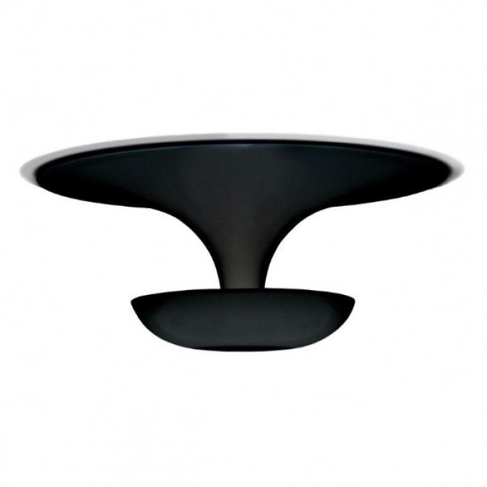 Imagen 1 de Funnel Mini Wall lamp/ceiling lamp ø22cm 2xG9 60W - Lacquered Black
