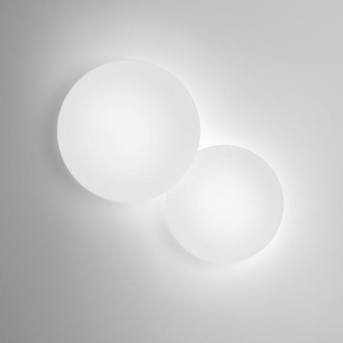 Imagen 1 de Puck Applique Double 2xG9 40w Laquage Blanc Mat