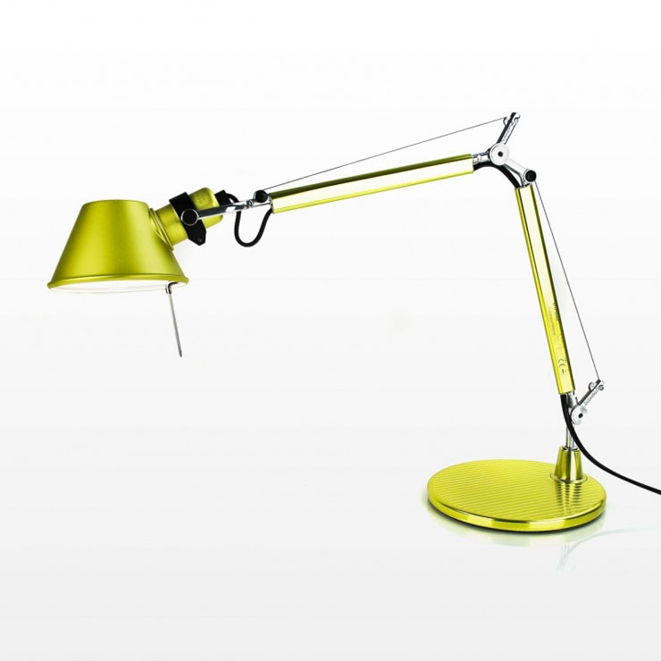 artemide tolomeo micro con pied de lampe de a011840 l mparas de dise o. Black Bedroom Furniture Sets. Home Design Ideas