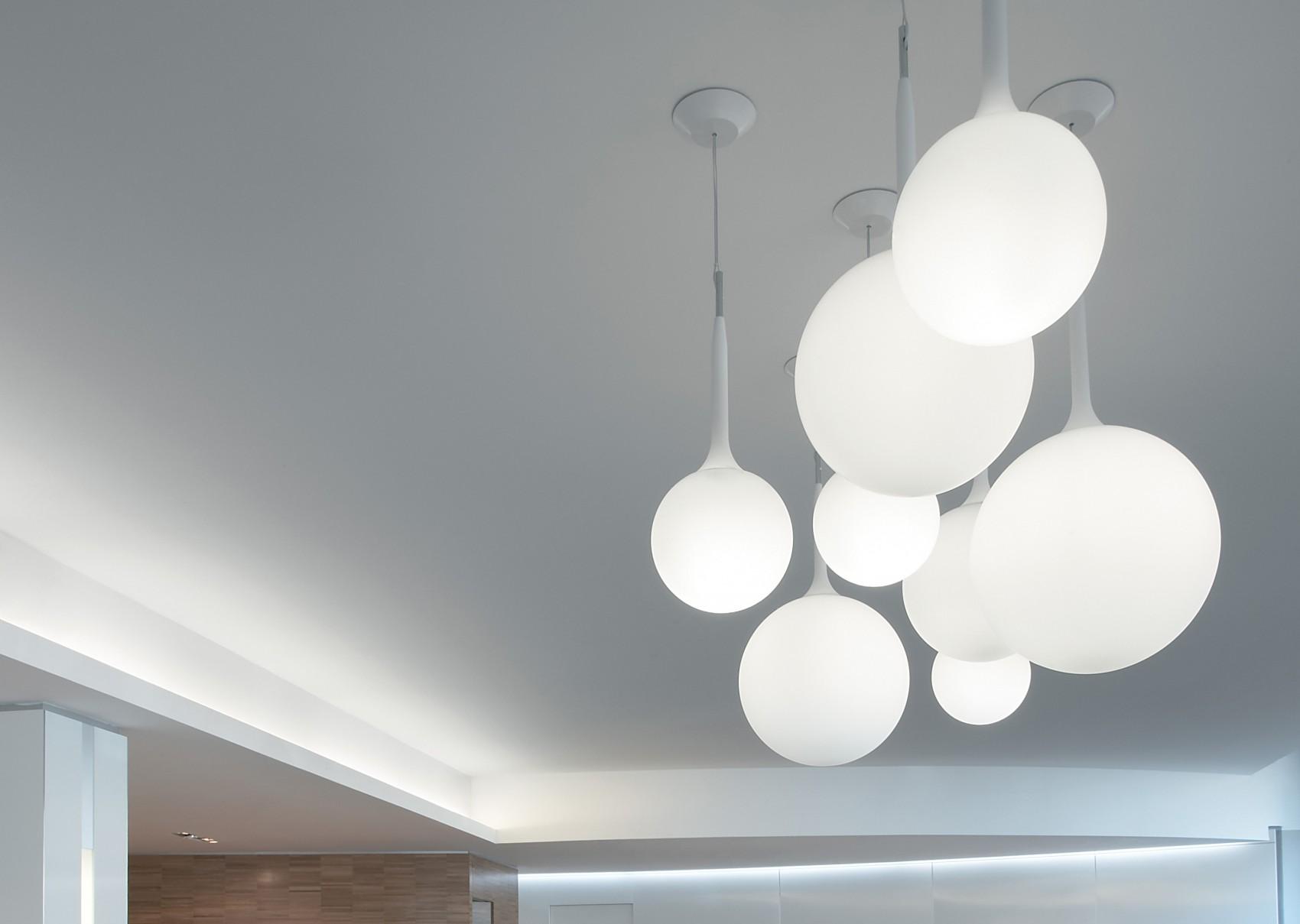 artemide castore pendant lamp 14 g9 48w white 1045010a l mparas de dise o. Black Bedroom Furniture Sets. Home Design Ideas