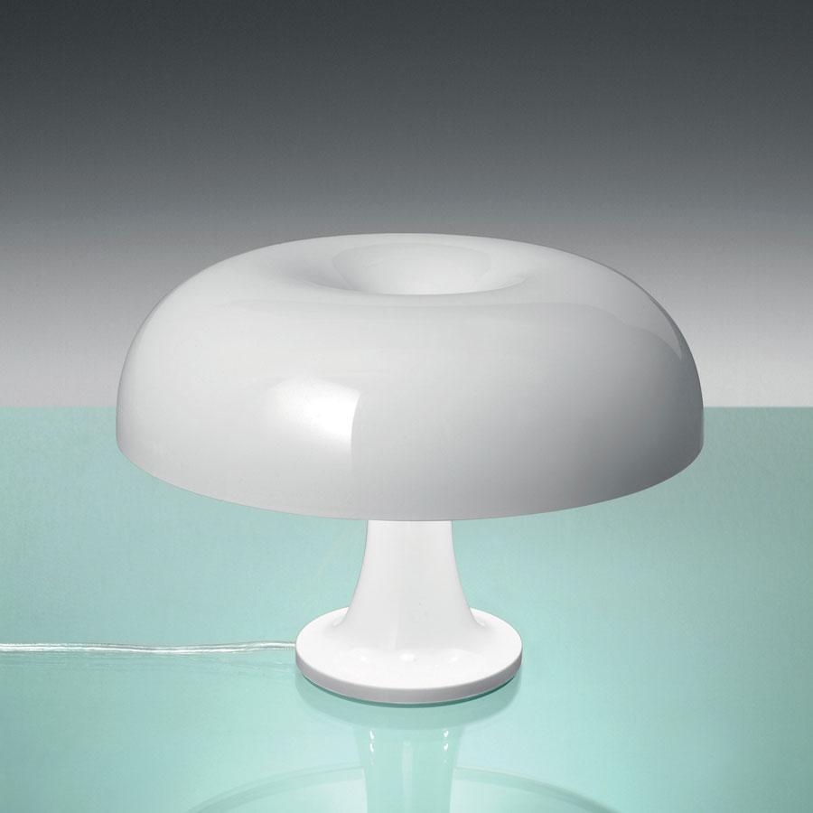 artemide nessino table lamp white 0039060a l mparas de dise o. Black Bedroom Furniture Sets. Home Design Ideas