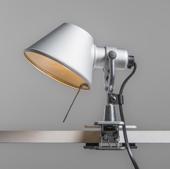 Imagen 1 De Tolomeo Pinza Wandleuchte LED   Aluminium