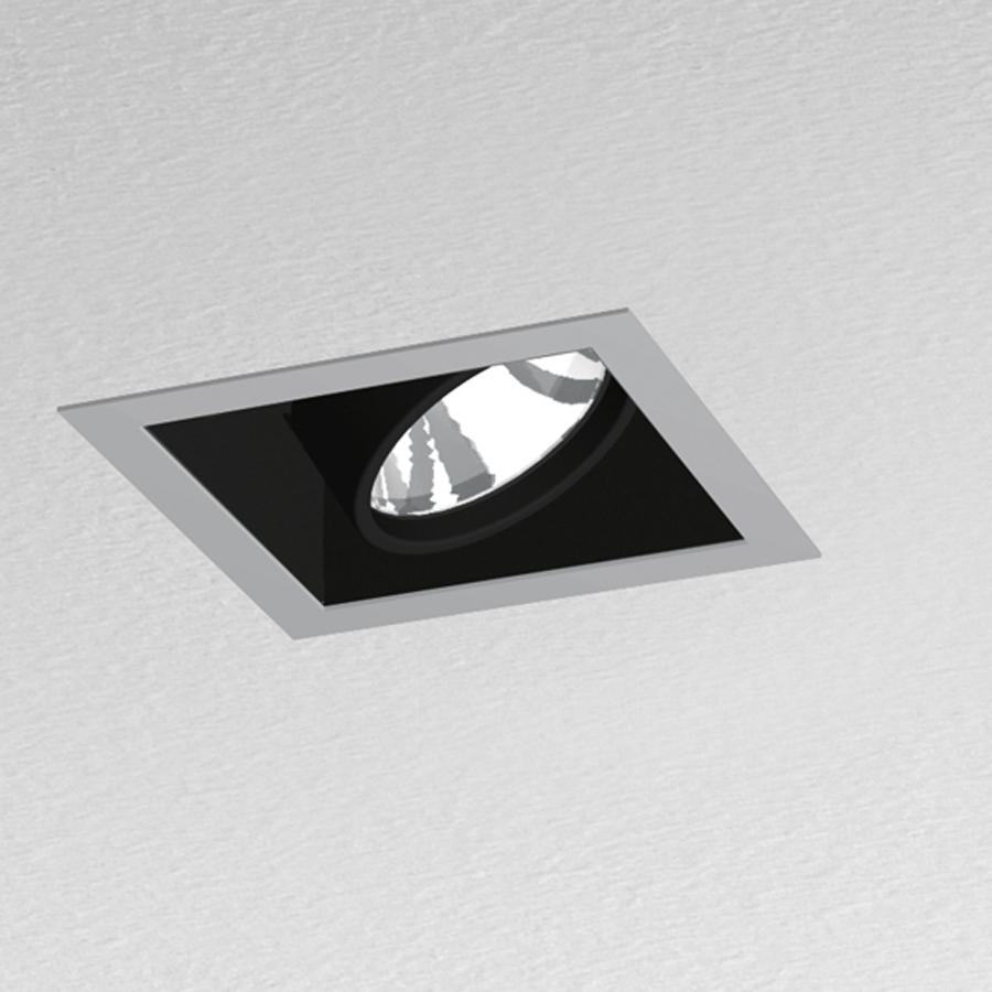 Artemide architectural java 208 downlight square 1 - Downlight led para cocina ...