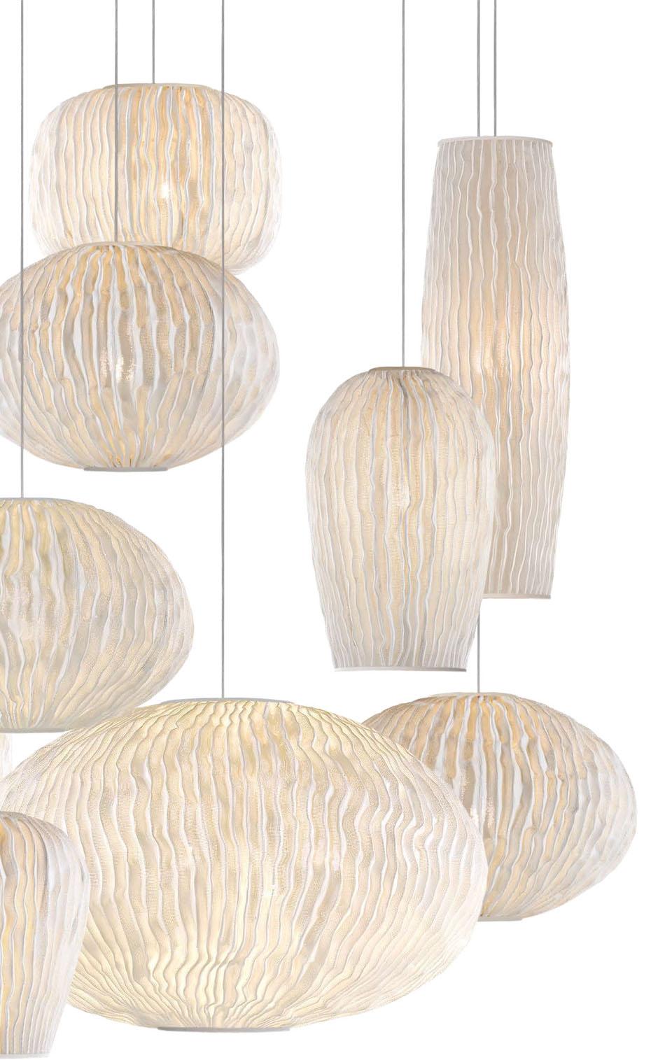 Coral Pendant Lamp composition 11 parts 135x135x250cm E27 Arturo Alvarez Image