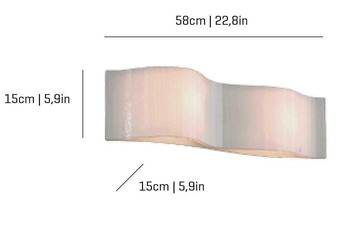 Vento Wall Lamp 22,8x5,9cm G9 Arturo Alvarez Image