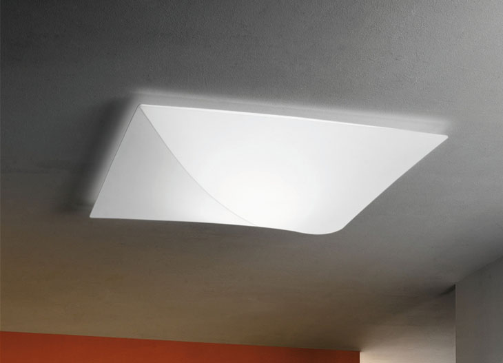 Axo Light Nelly Ceiling Lamp 60x60 Square 2xe27