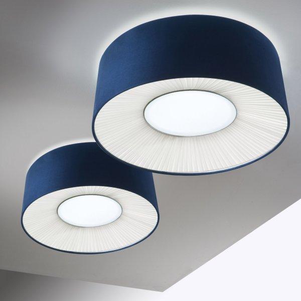 Imagen 1 de velvet ceiling lamp 70 e27 e27 2x20w fluo lightecture