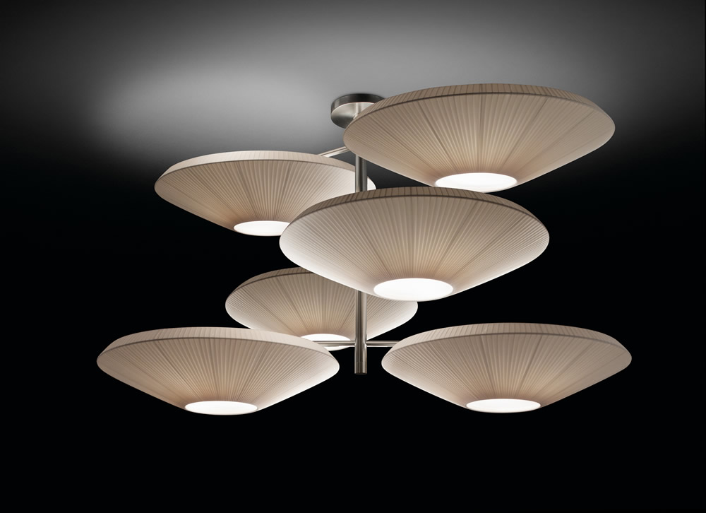 Bover siam 6 luces solo estructura 4632005 l mparas de - Pantallas lamparas barcelona ...