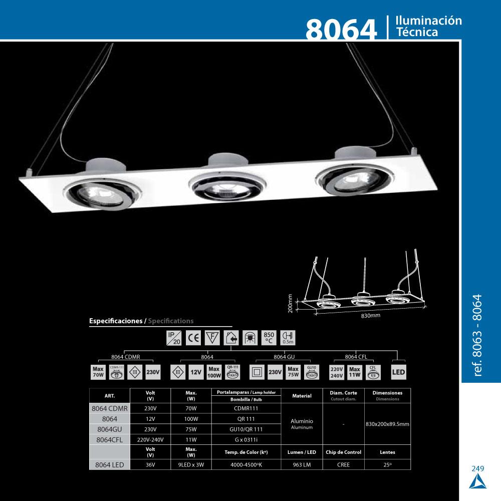 bpm lighting 8064 pendant lamp 3 lights gx0311i white 8064. Black Bedroom Furniture Sets. Home Design Ideas