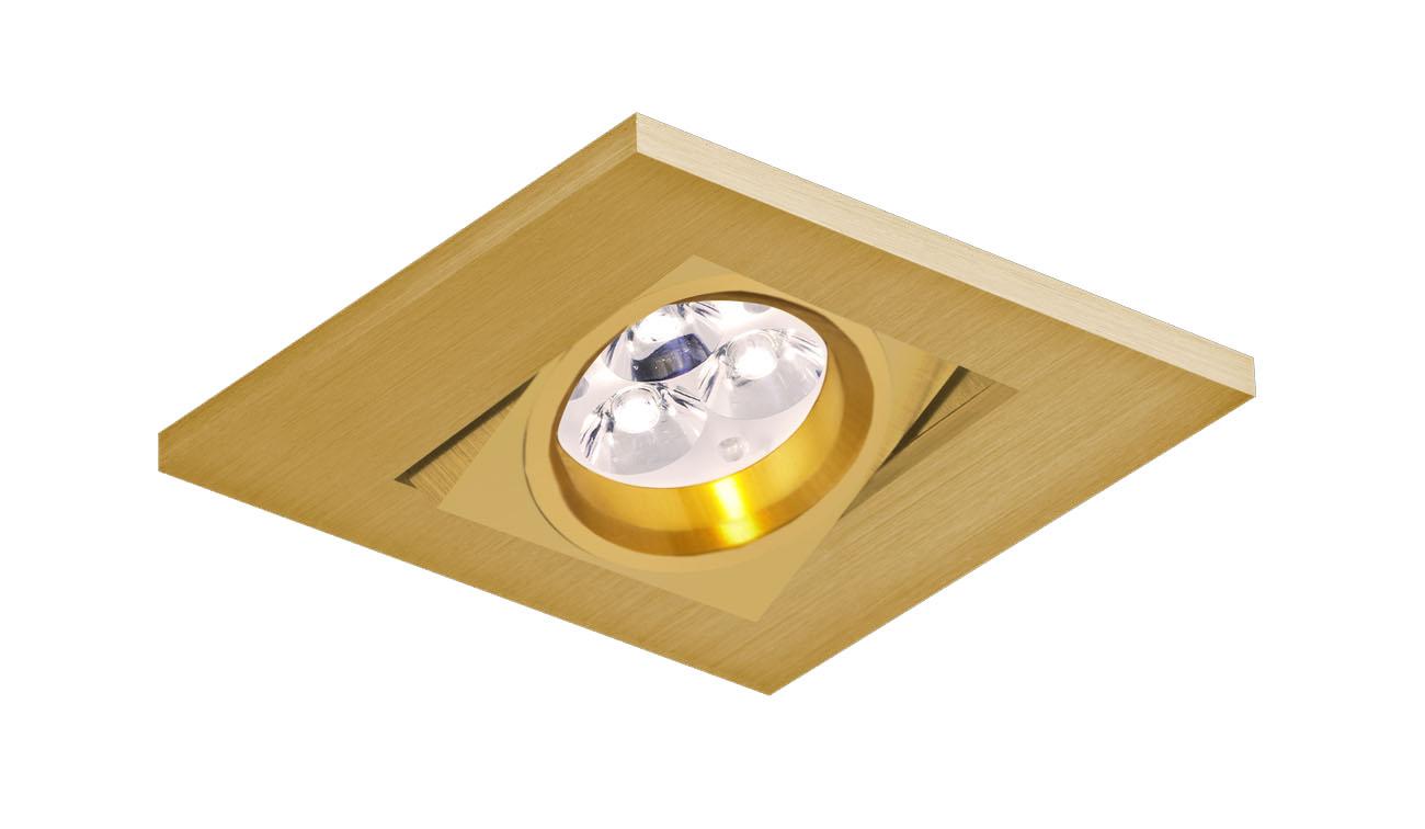 bpm lighting 2000 empotrable cuadrado de 1 luz gu10 2000. Black Bedroom Furniture Sets. Home Design Ideas