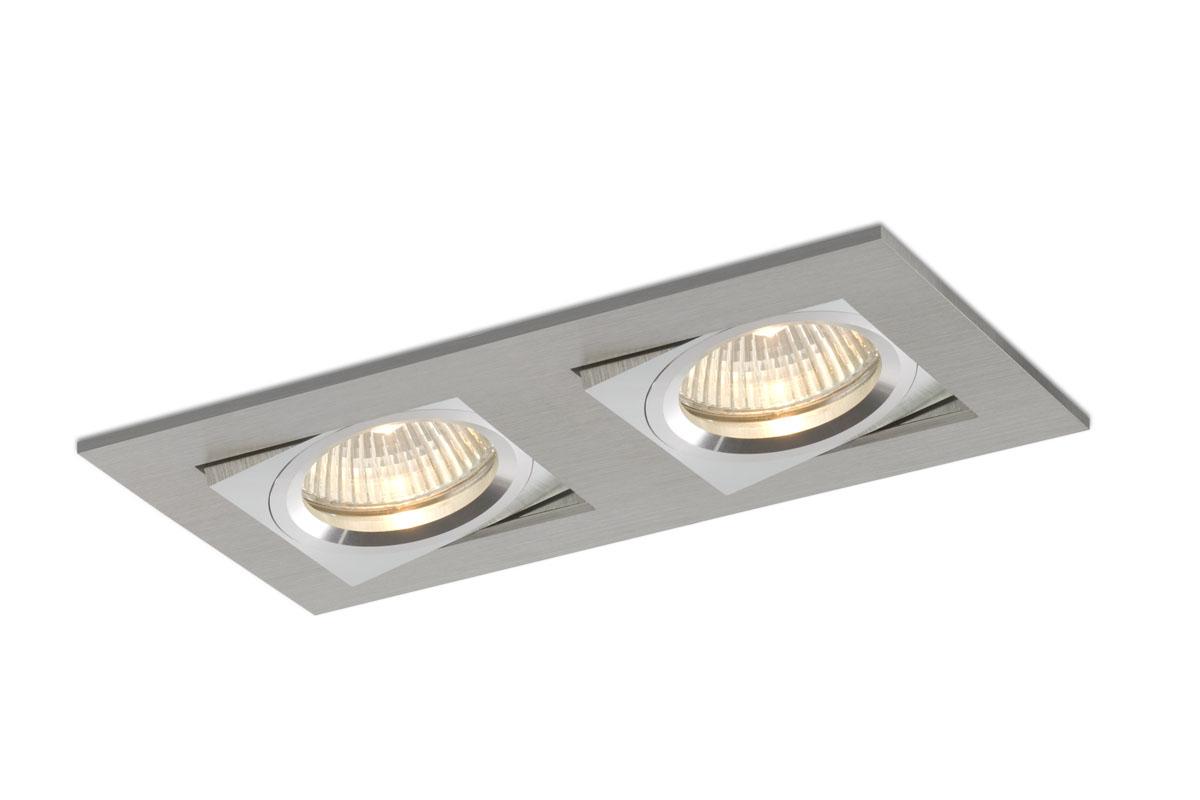 bpm lighting 3001 empotrable doble rectangular 2xled 3001. Black Bedroom Furniture Sets. Home Design Ideas