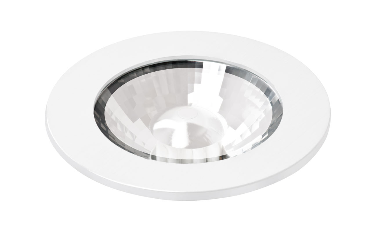 bpm lighting 3025 recessed round ip65 gu10 white matt 3025. Black Bedroom Furniture Sets. Home Design Ideas