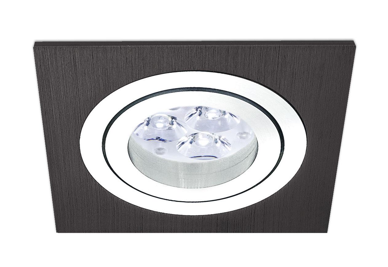 bpm lighting 3054 square recessed of 1 light gu10 3054. Black Bedroom Furniture Sets. Home Design Ideas