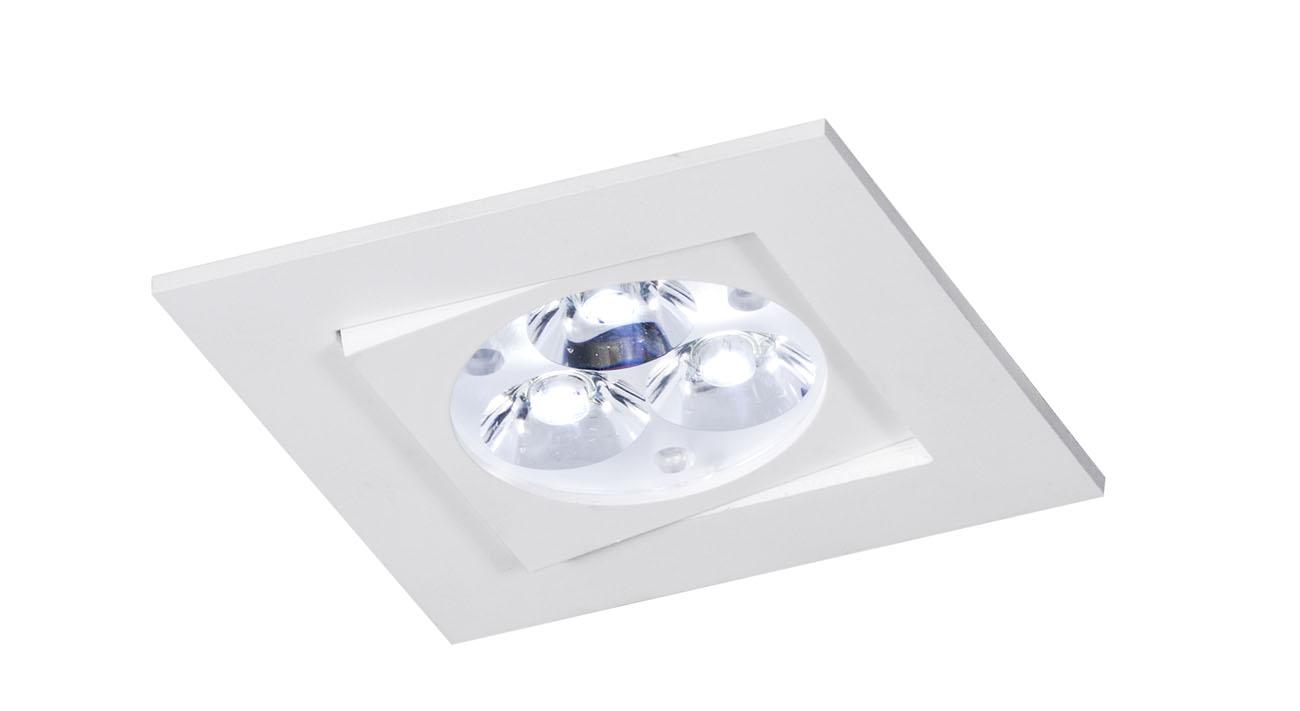 bpm lighting 4200 square recessed of 1 light gu10 4200. Black Bedroom Furniture Sets. Home Design Ideas