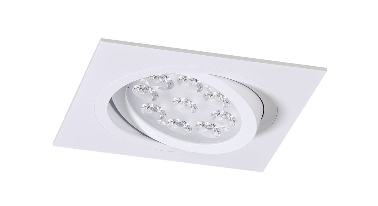 bpm lighting 4250 square recessed of 1 light qr 111 4250. Black Bedroom Furniture Sets. Home Design Ideas