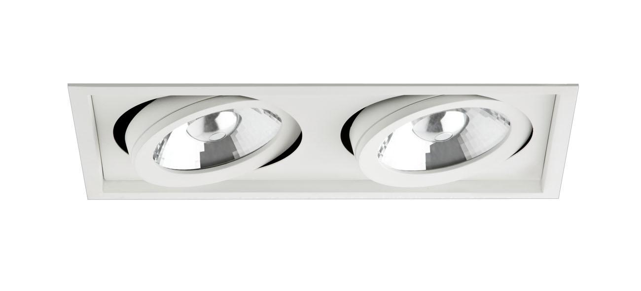 bpm lighting 8006 empotrable de 2 luces led 2700k 8006. Black Bedroom Furniture Sets. Home Design Ideas