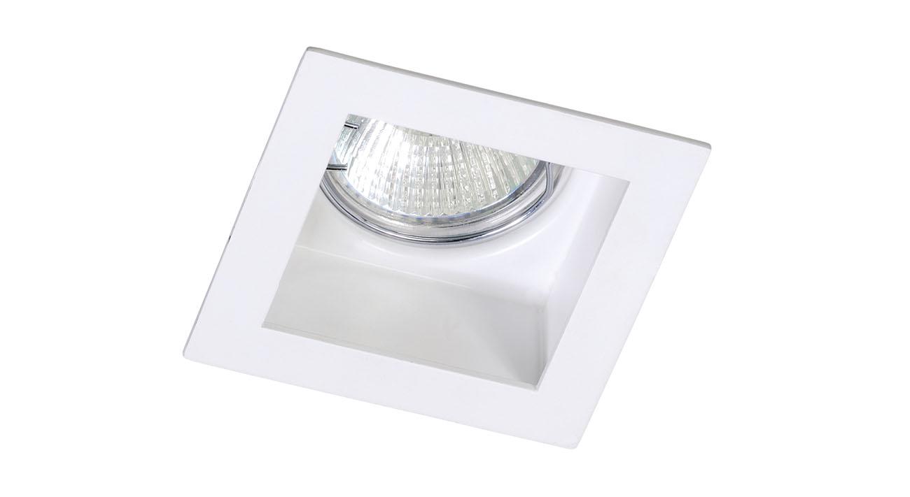 bpm lighting 8012 empotrable cuadrado de 1 luz led 8012. Black Bedroom Furniture Sets. Home Design Ideas