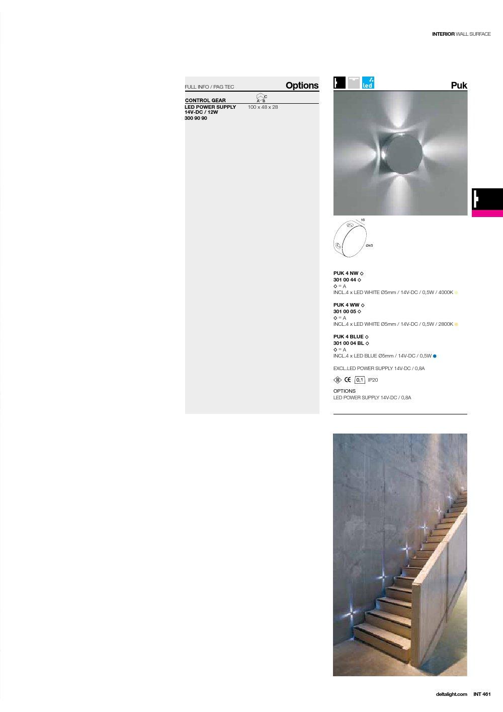 delta light puk 4 balise 4 faisceaux lumi re bleu 301 00. Black Bedroom Furniture Sets. Home Design Ideas