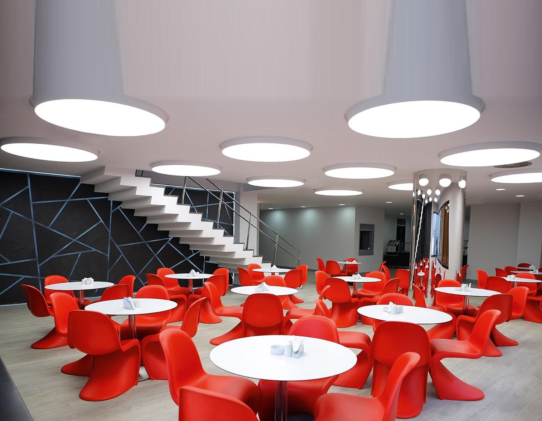 delta light supernova ceiling lamp semi recessed 274 88 90 w. Black Bedroom Furniture Sets. Home Design Ideas