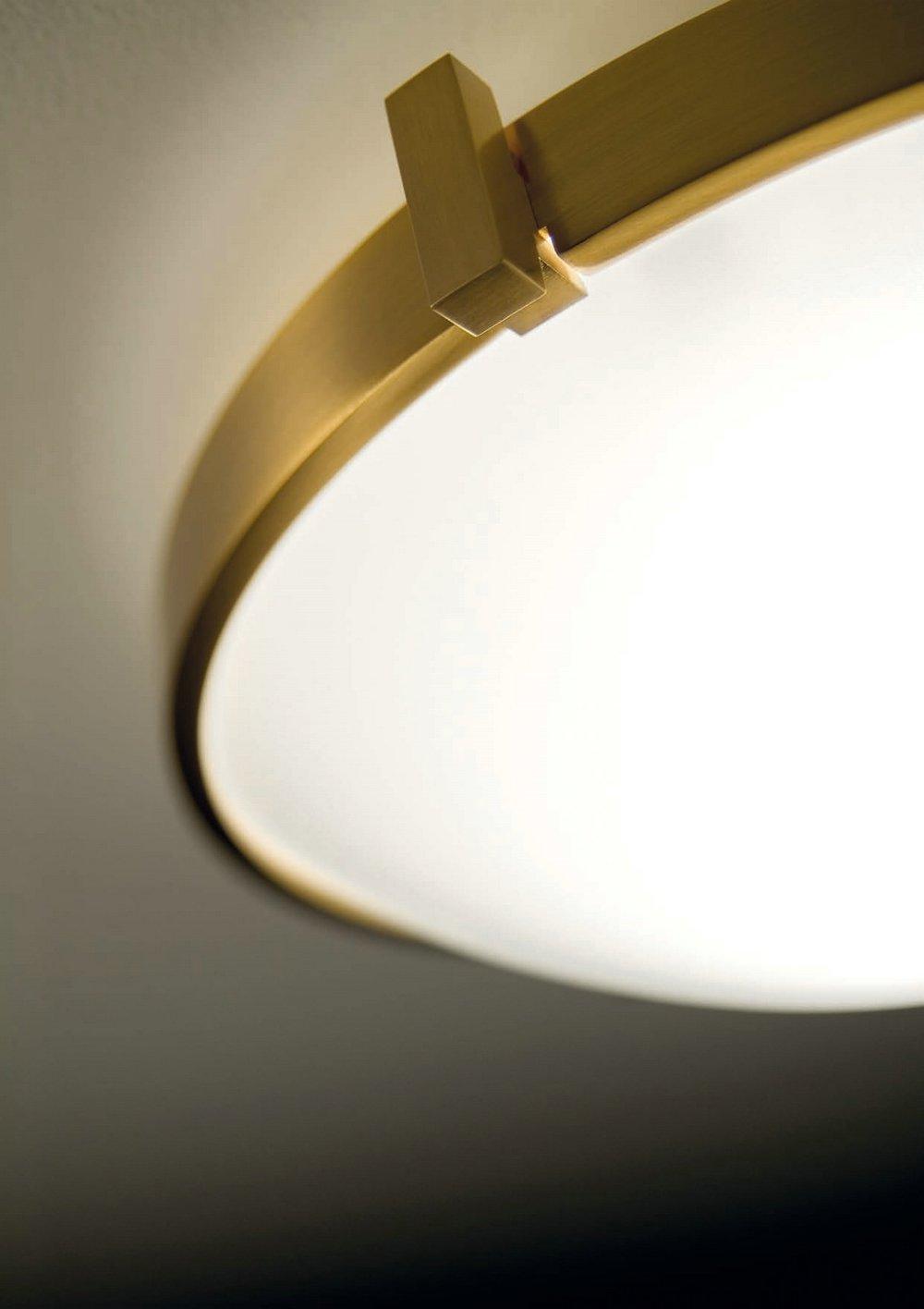 Estiluz T 2122 Ceiling Lamp Niquel 021223700 L 225 Mparas De