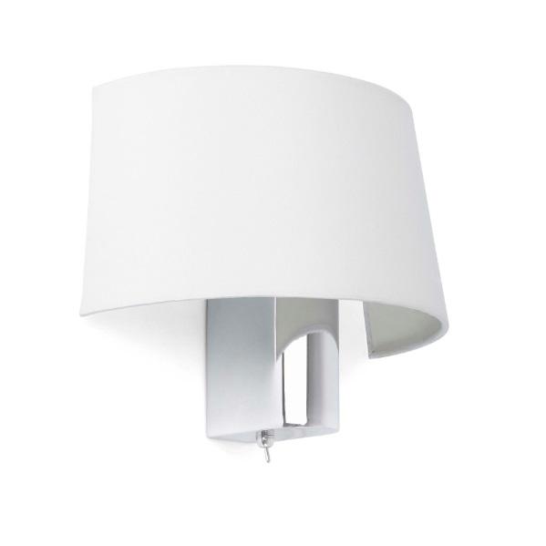 Faro Hotel Wall Lamp 1L E27 60w white 29940