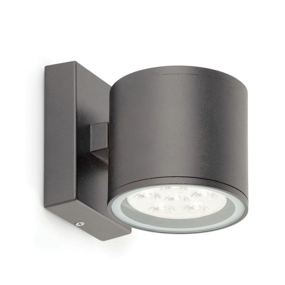 Faro gargal 1 aplique exterior gris oscuro 70553 for Exterior gris oscuro