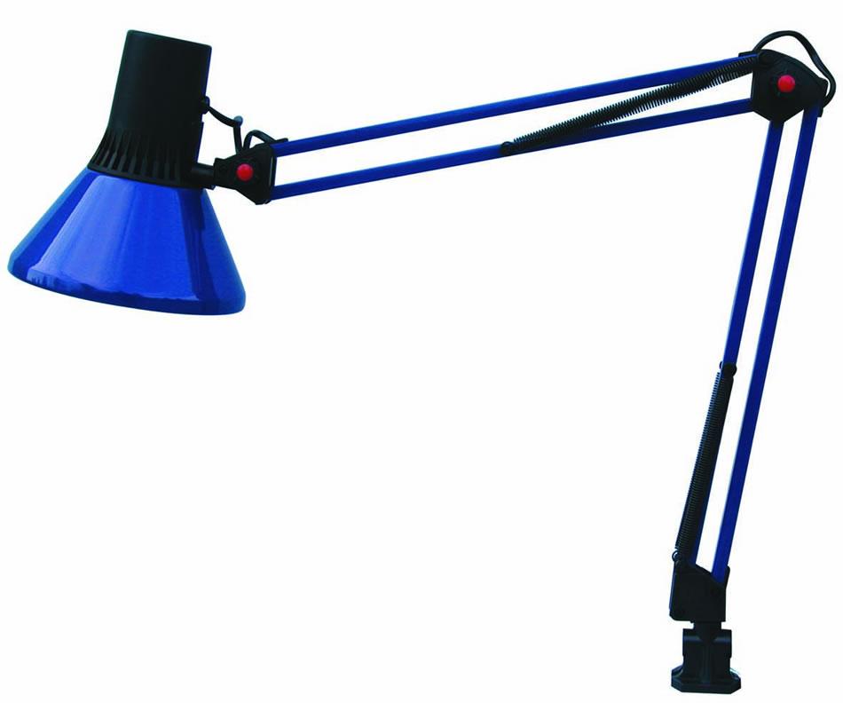 Faro office l mpara flexo azul 50018 l mparas de dise o - Flexos de diseno ...