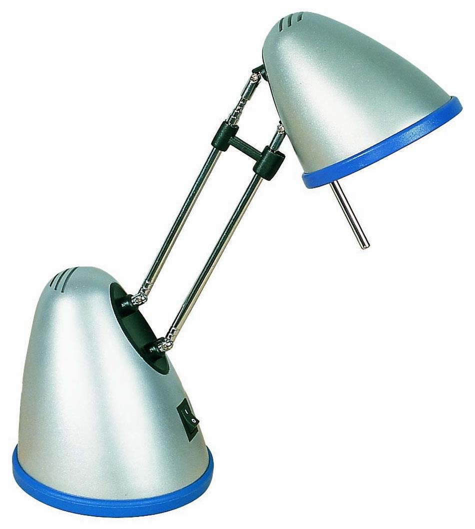 Faro dako l mpara flexo azul gris 55130 l mparas de dise o - Flexos de diseno ...