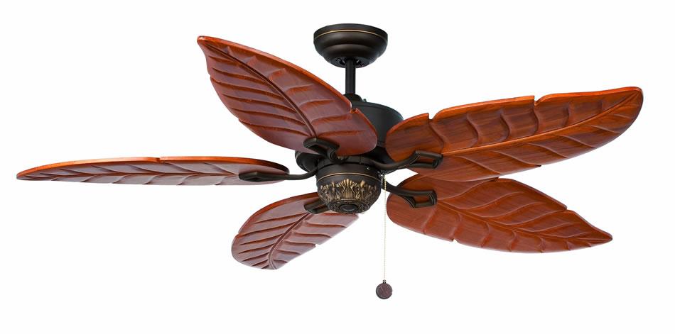 Faro colonial ventilador techo marr n 4 33353 l mparas - Lamparas de techo ventilador ...