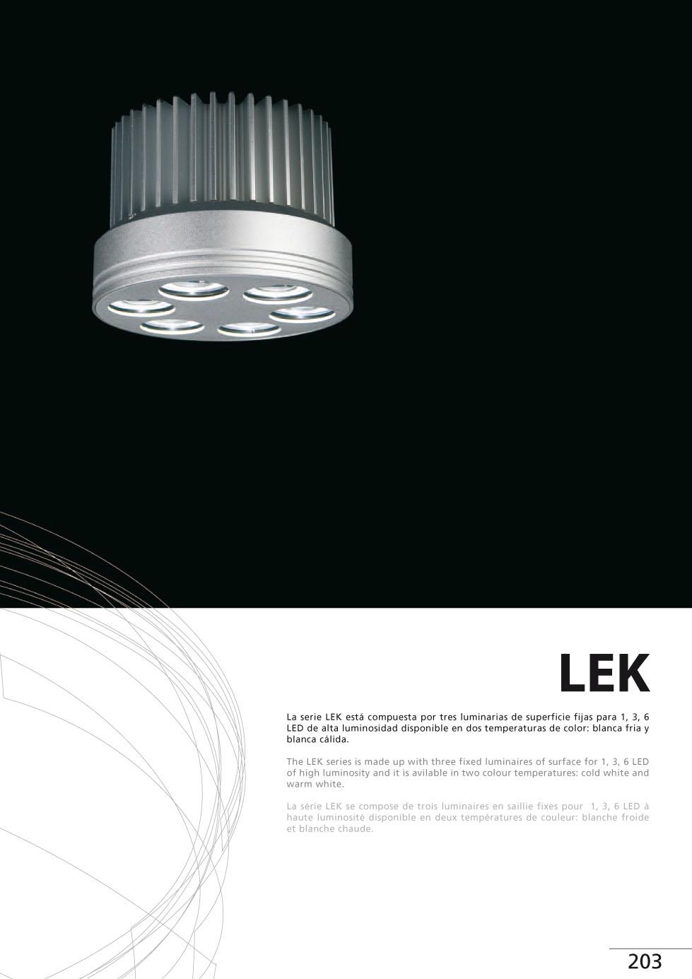 Faro lek downlight led surface fixed 1xled 3w 05010103 - Downlight led para cocina ...