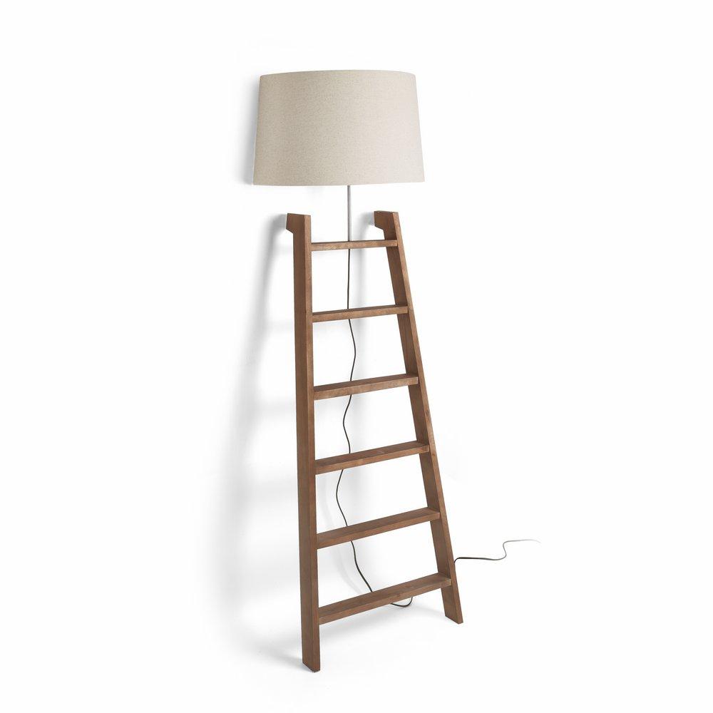 Faro STAIR lámpara di Lampada da terra Legno 68560 - Lámparas de ...