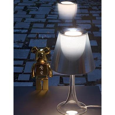 flos miss k t tischleuchte e27 70w f6255000 l mparas de. Black Bedroom Furniture Sets. Home Design Ideas