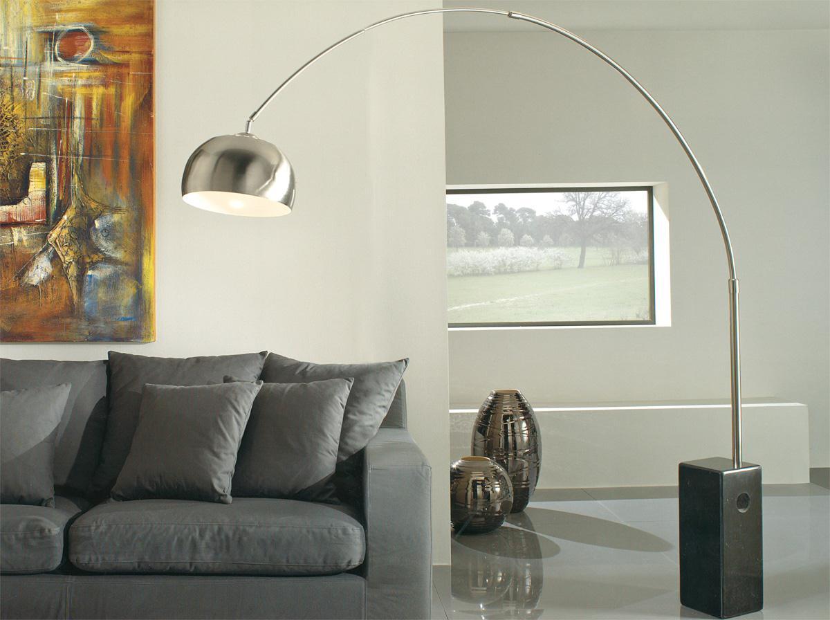 Flos arco l mpara de pie led 8w e27 con f0300000 for Imitazioni lampade design